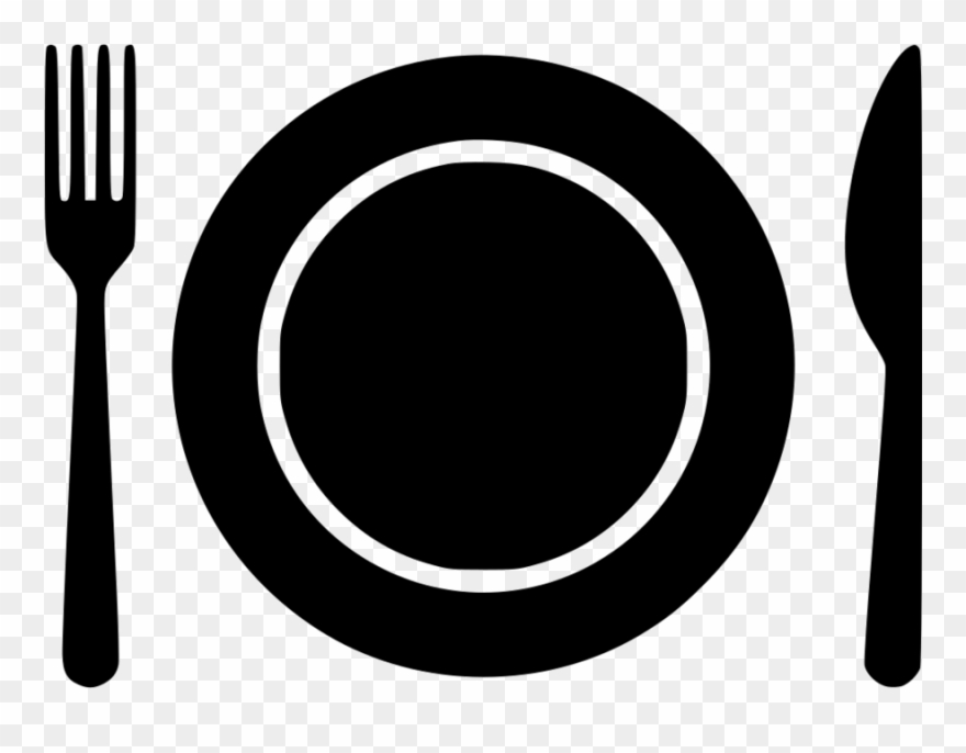 Plates And Silverware Clipart | Free Images at Clker.com - vector clip art  online, royalty free & public domain