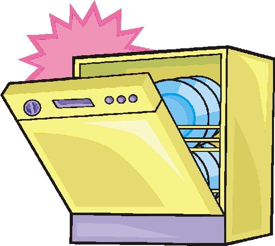 Free download best . Dishwasher clipart dish washer