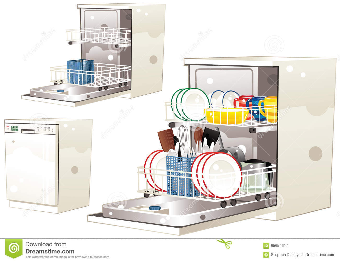 Dishwasher clipart empty dishwasher. Station