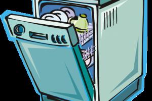 Station . Dishwasher clipart empty dishwasher