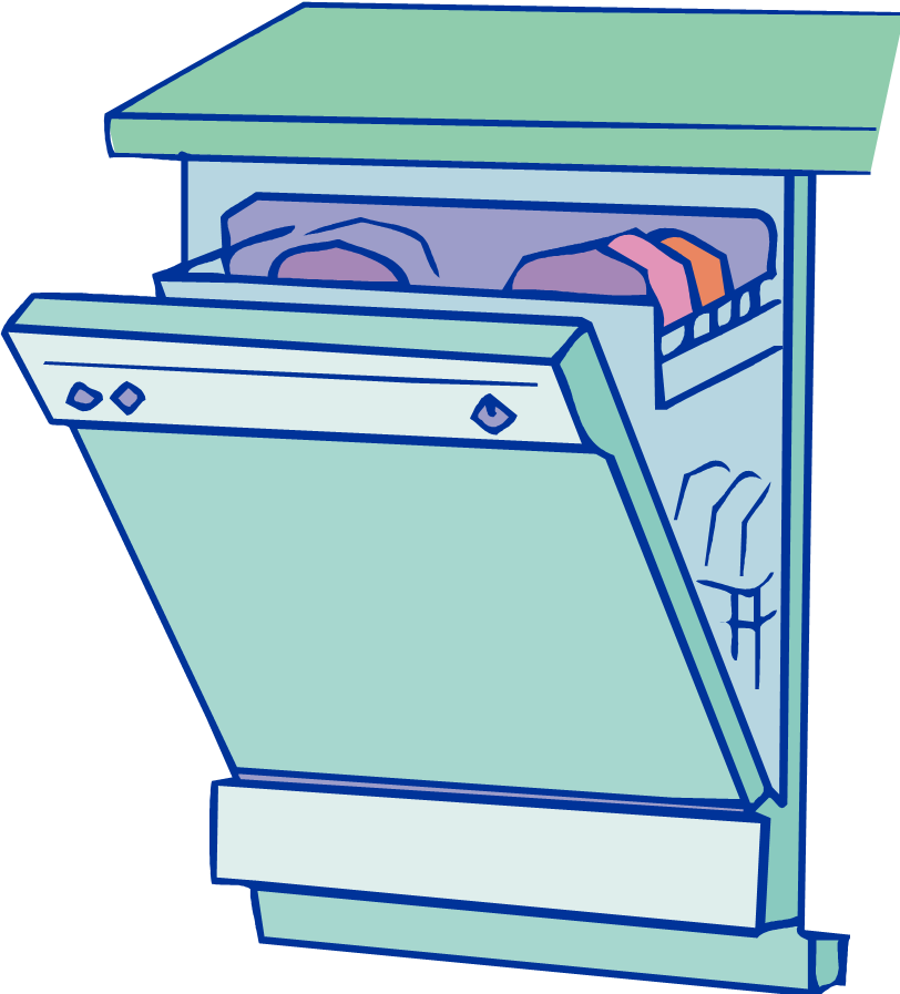 Dishwasher clipart happy. Free cliparts download clip