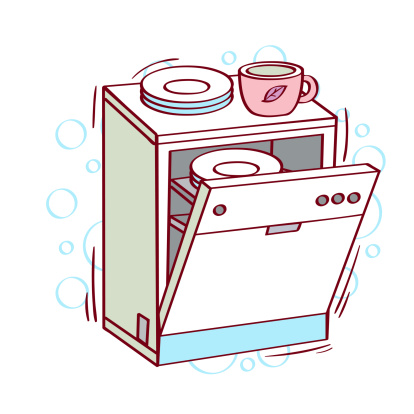 Free cliparts download clip. Dishwasher clipart load