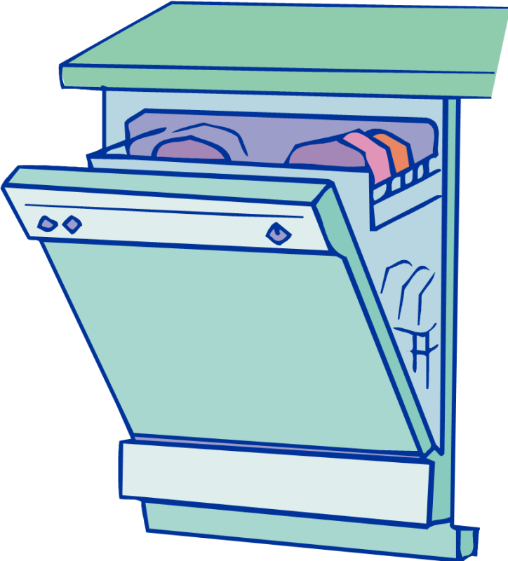 Dishwasher clipart loading dishwasher. Load ourclipart pin