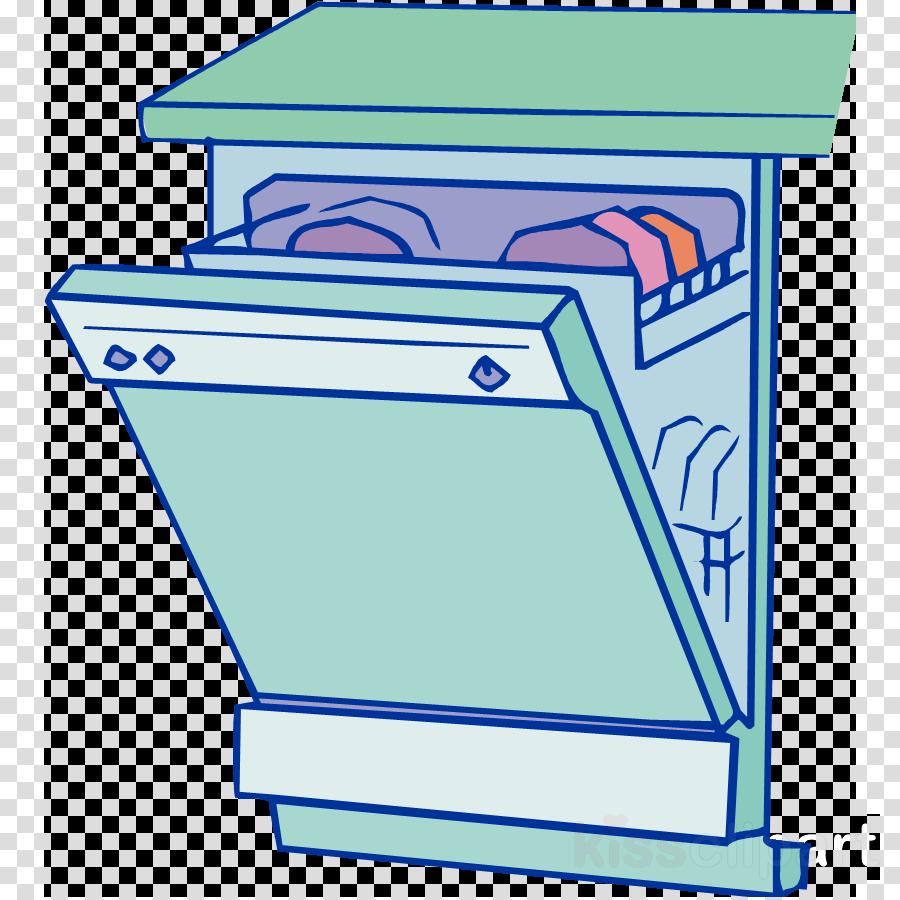 Kitchen cartoon cleaning text. Dishwasher clipart transparent