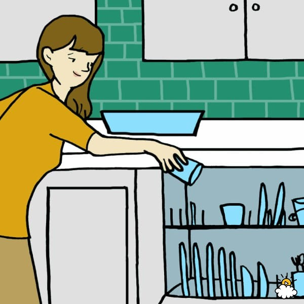 Dishwasher clipart washing utensil.  ways dishes by