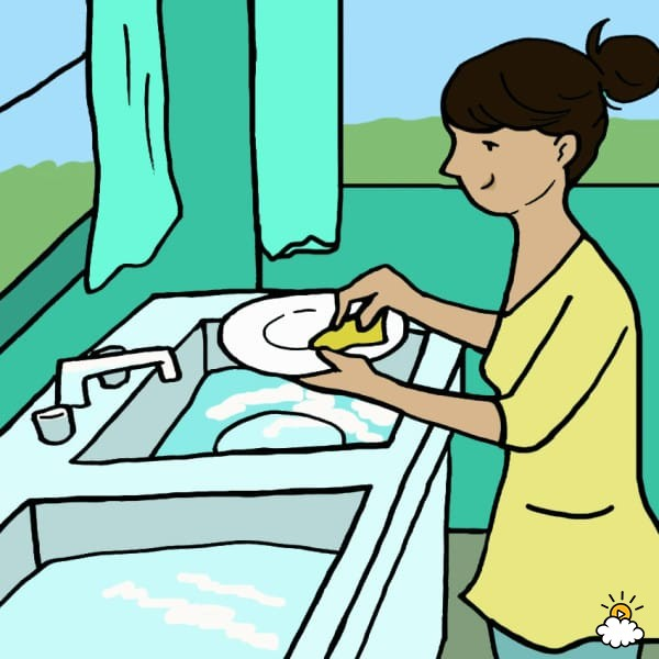 ways dishes by. Dishwasher clipart washing utensil