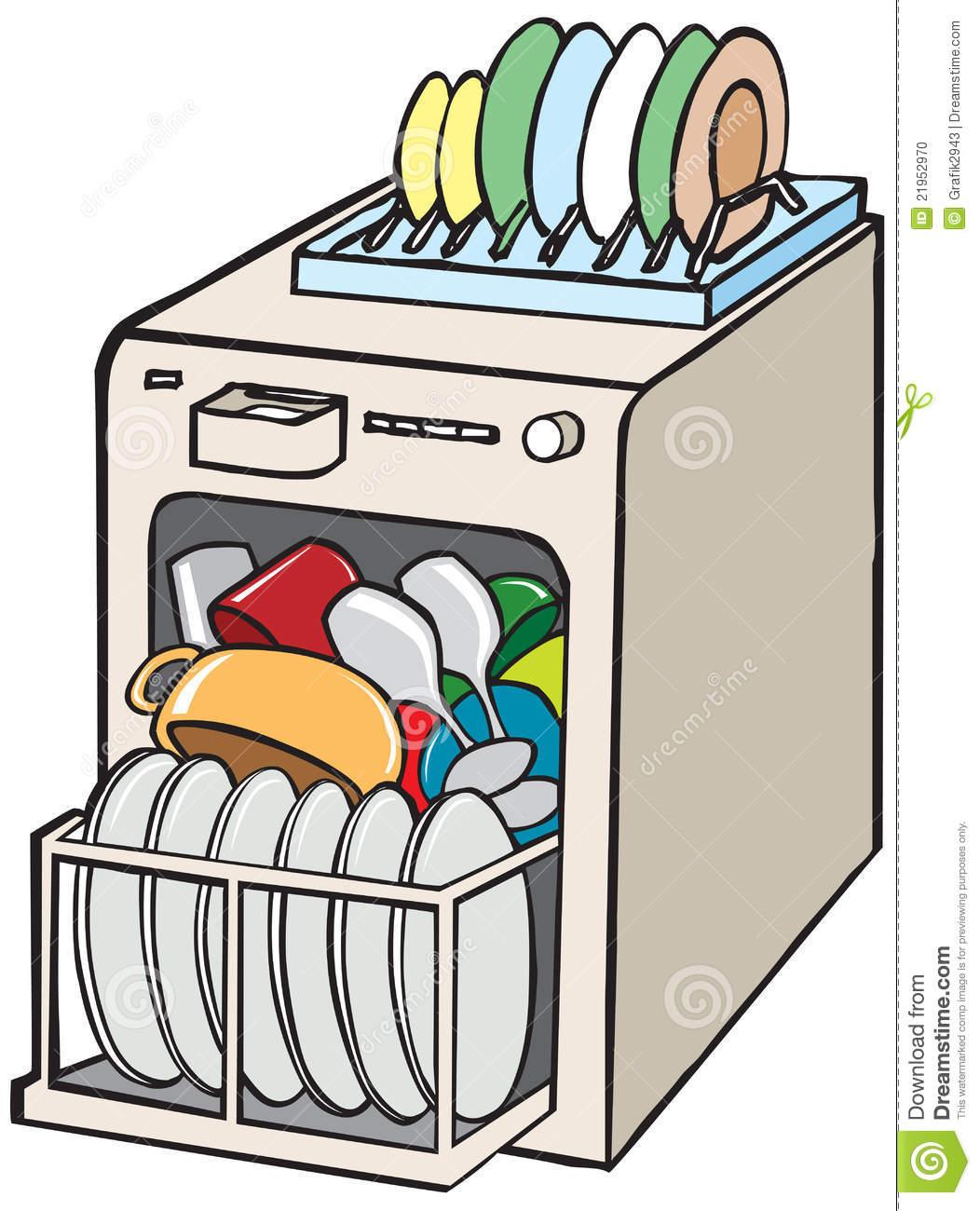 Panda free images dishwasherclipart. Dishwasher clipart