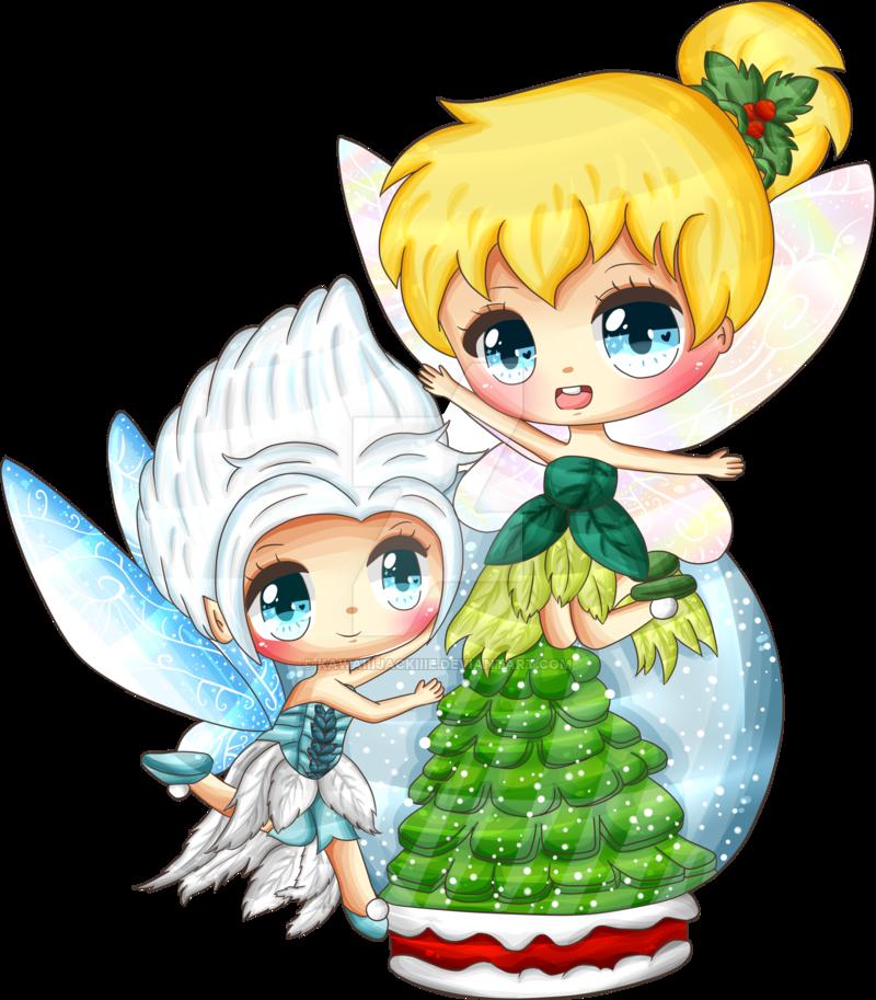 Movies clipart kawaii. A magical christmas by