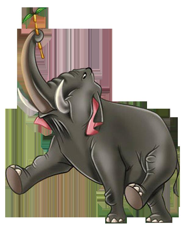 Disney clipart elephant. Colonel hathi animals wiki