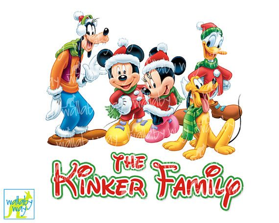 Disney clipart family. Christmas fab printable iron