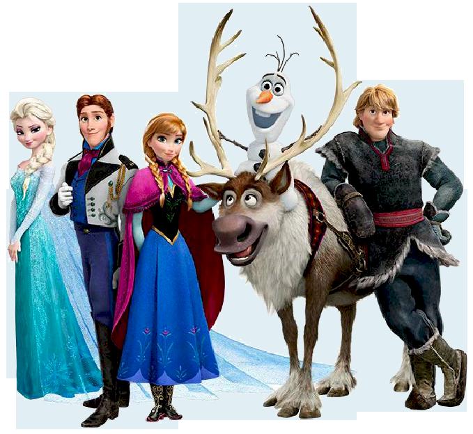 Disney . Frozen clipart file
