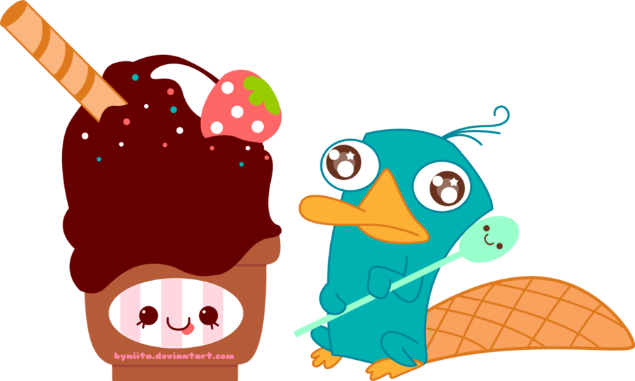 Perry love by byniita. Moving clipart ice cream