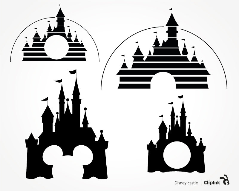 Disney clipart key. Castle pencil and in