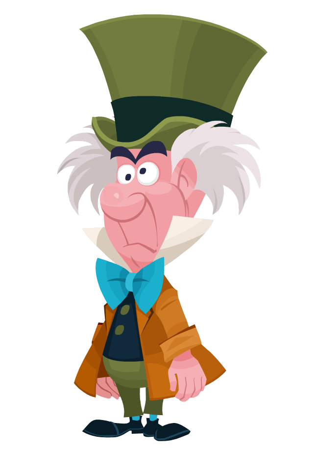 Hatter disney transparent png. Queen clipart mad