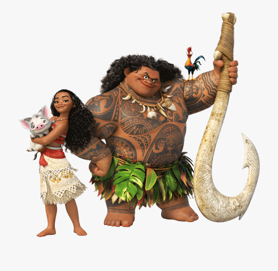Moana clipart transparent background. Png waikiki disney and