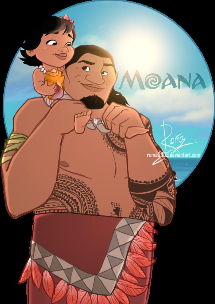 Disney clipart moana. And tui family by