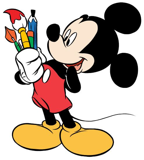 Cartoon mouse free download. Disney clipart painting