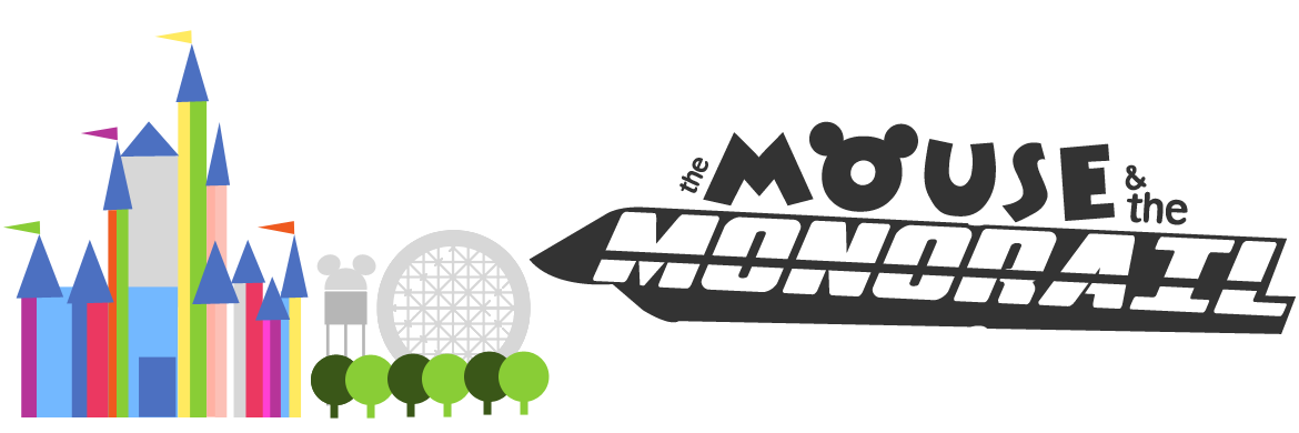 The mouse and monorail. Disney clipart pixie dust