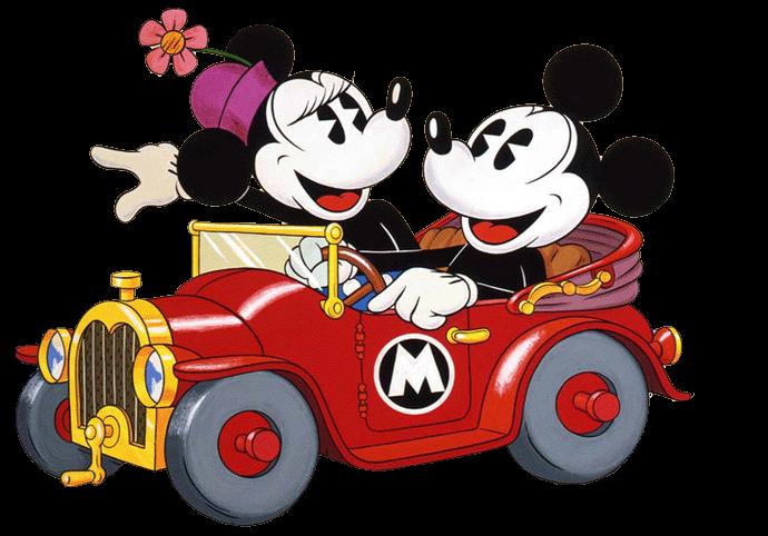 Disney clipart road trip. Mick minnie take a