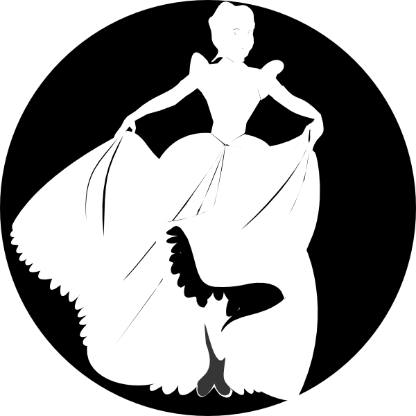 Princess silhouette in background. Moana clipart black and white