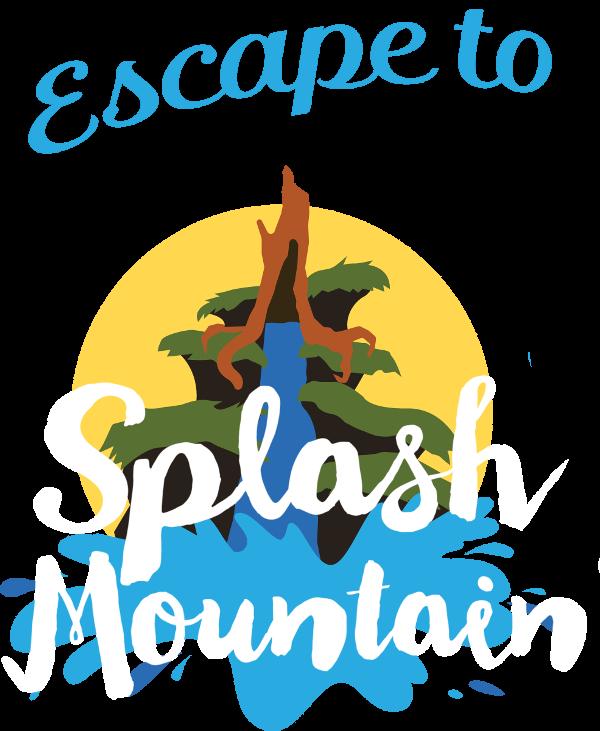 Disney clipart splash mountain. Birthday escape to