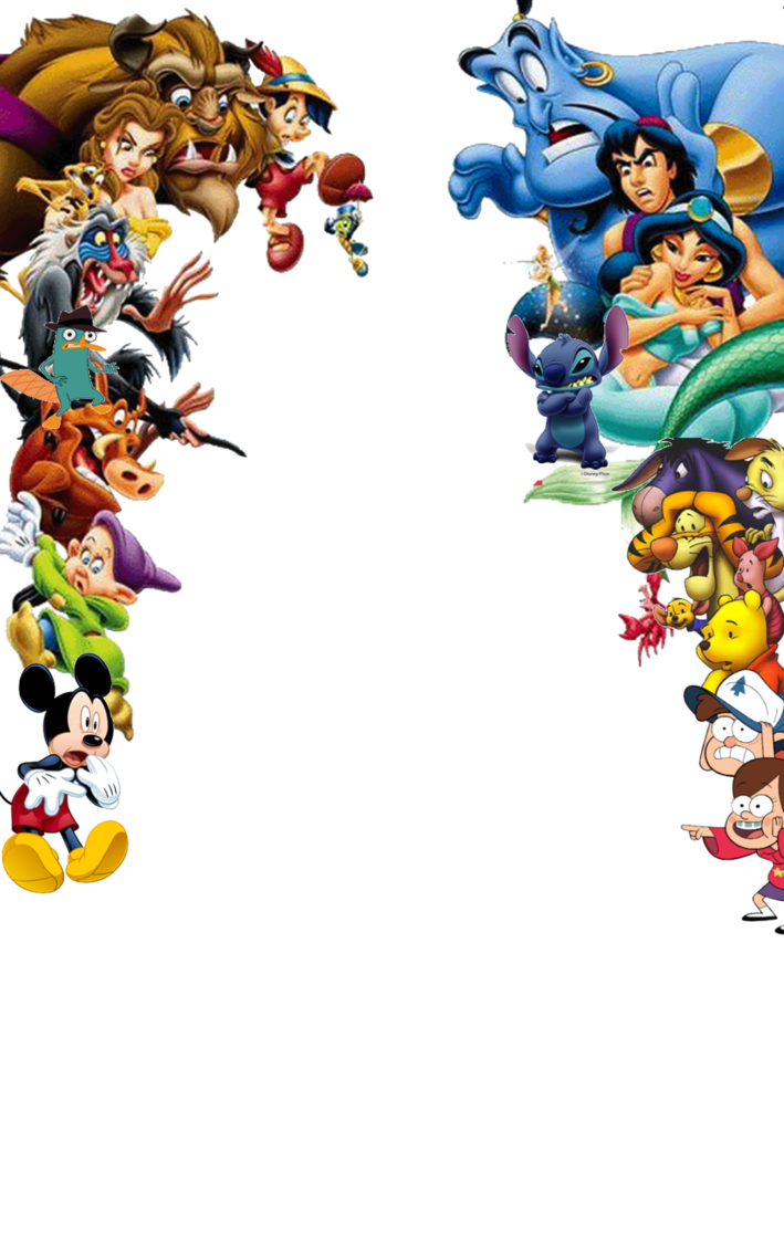 Characters transparent shocked by. Disney png images