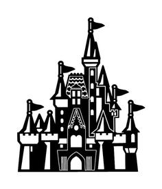 Disneyland clipart. Castle