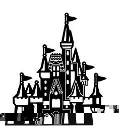 Castle . Disneyland clipart