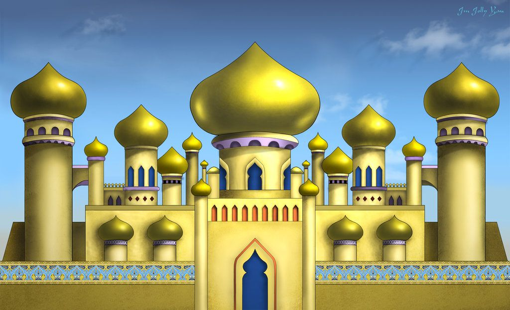 Stock arabian backdrop by. Palace clipart aladdin castle