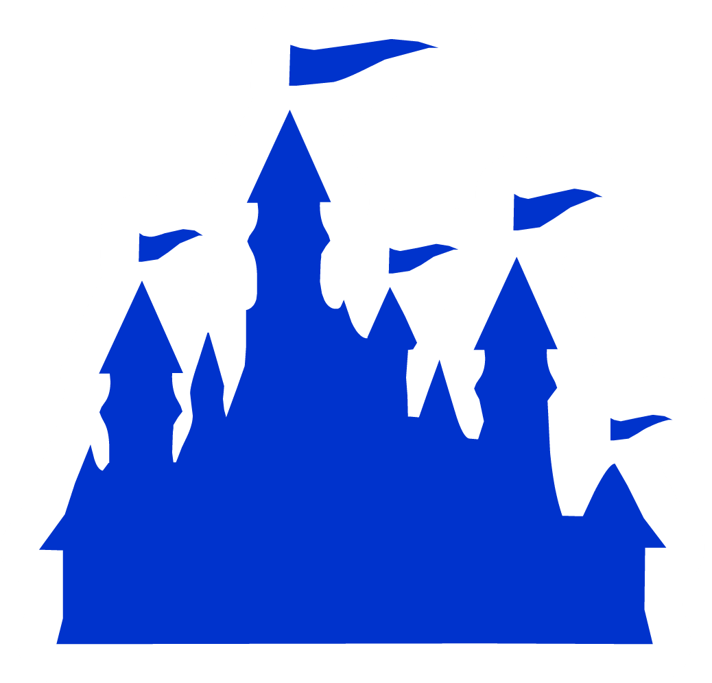 Palace clipart blue castle. Silhouette at getdrawings com