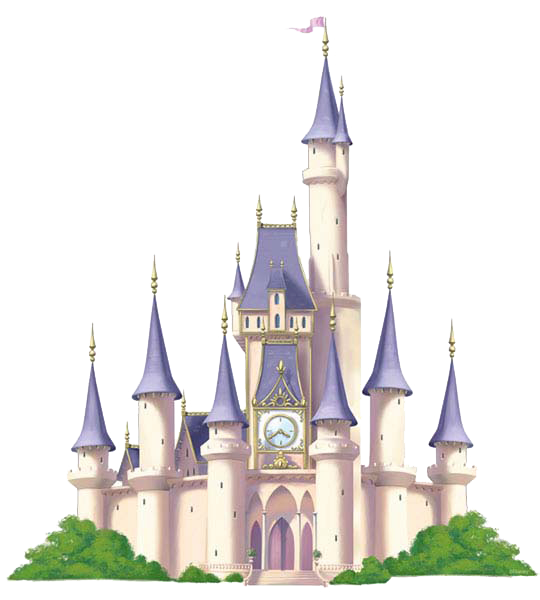 collection of disney. Palace clipart castle border