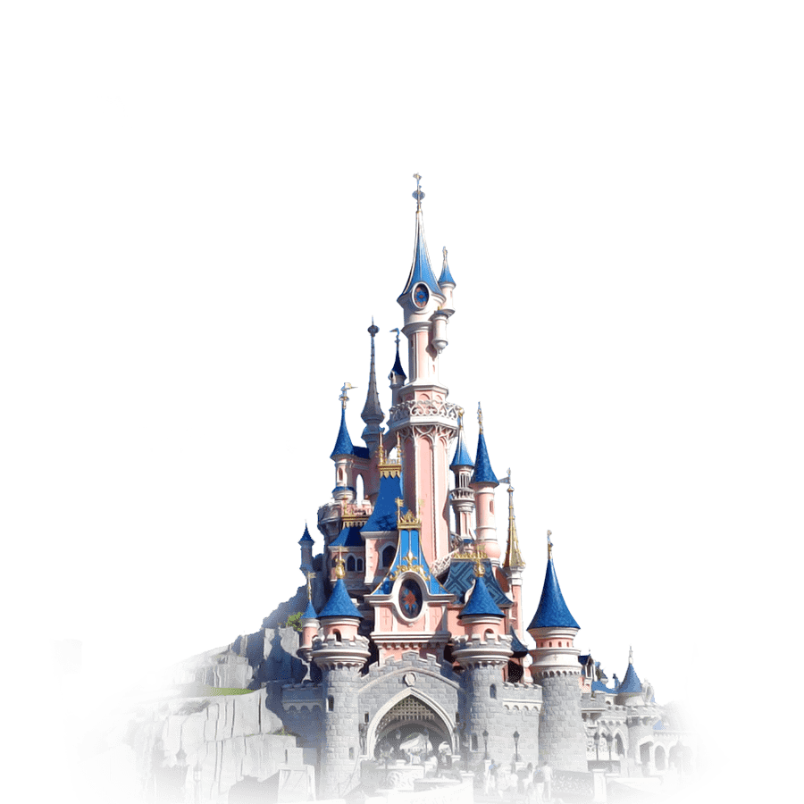 Transparent png stickpng. Disneyland clipart cinderella castle