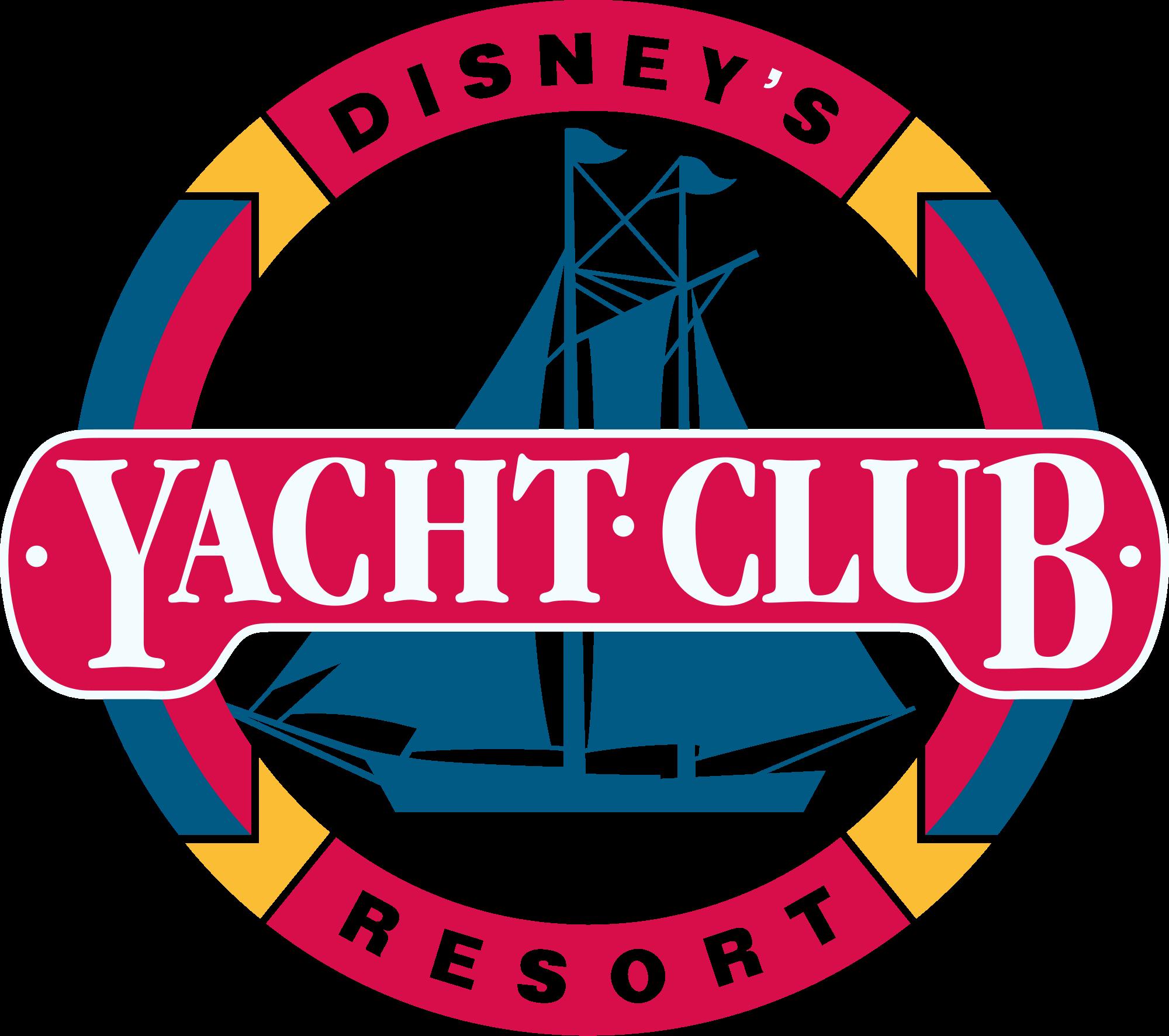 Disney s yacht club. Disneyland clipart emblem