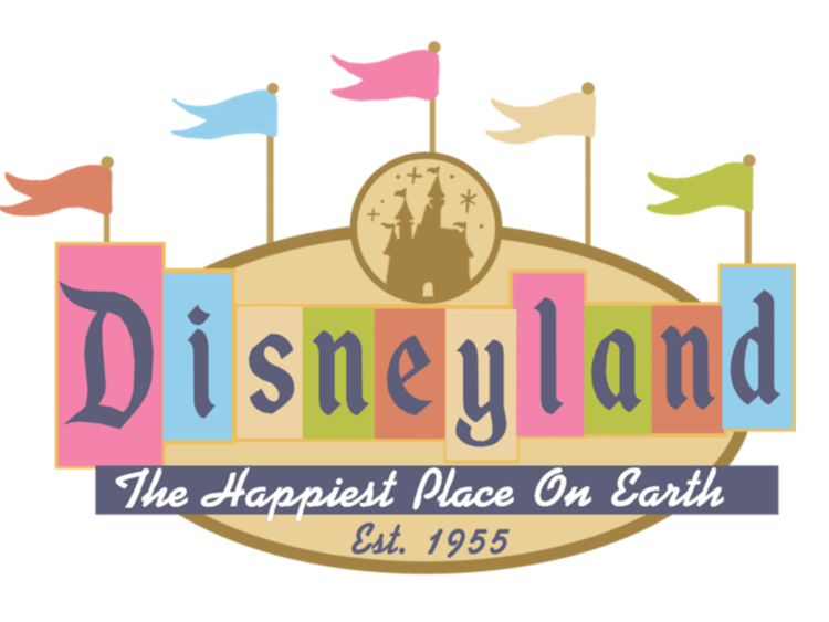 Experience arts school . Disneyland clipart font