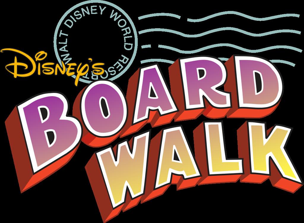 Disneyland clipart font. Disney s boardwalk inn