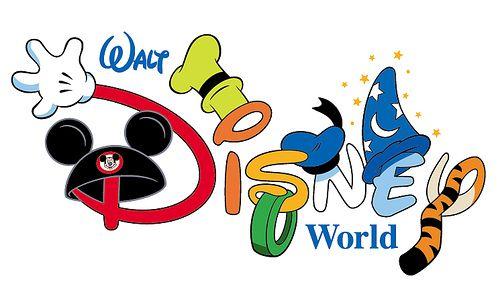 Disney world text lettering. Disneyland clipart font