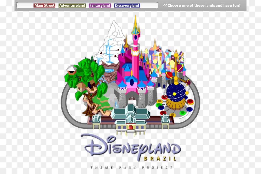 Disneyland clipart map disneyland. Cartoon text transparent