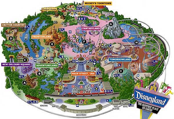 Disneyland clipart map disneyland. Bkmn clip art library