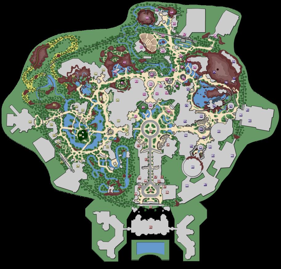 By mrzahta on deviantart. Disneyland clipart map disneyland