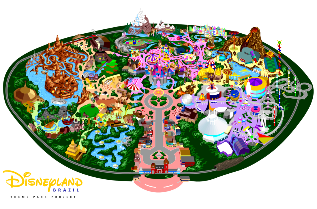 collection of drawing. Disneyland clipart map disneyland