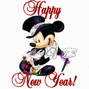 Disneyland clipart new year. Mickey mouse happy disney