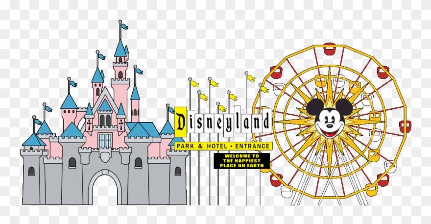 Amusement rides . Disneyland clipart transparent