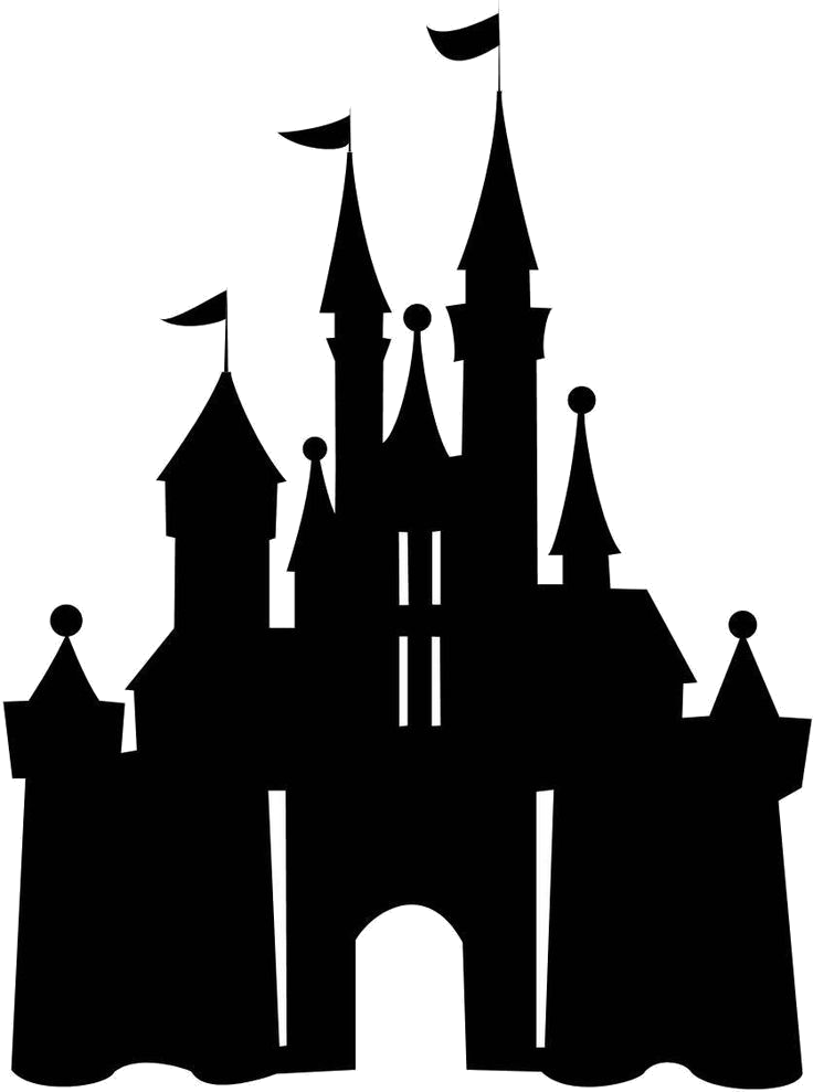 Disney castle free cliparts. Disneyland clipart transparent