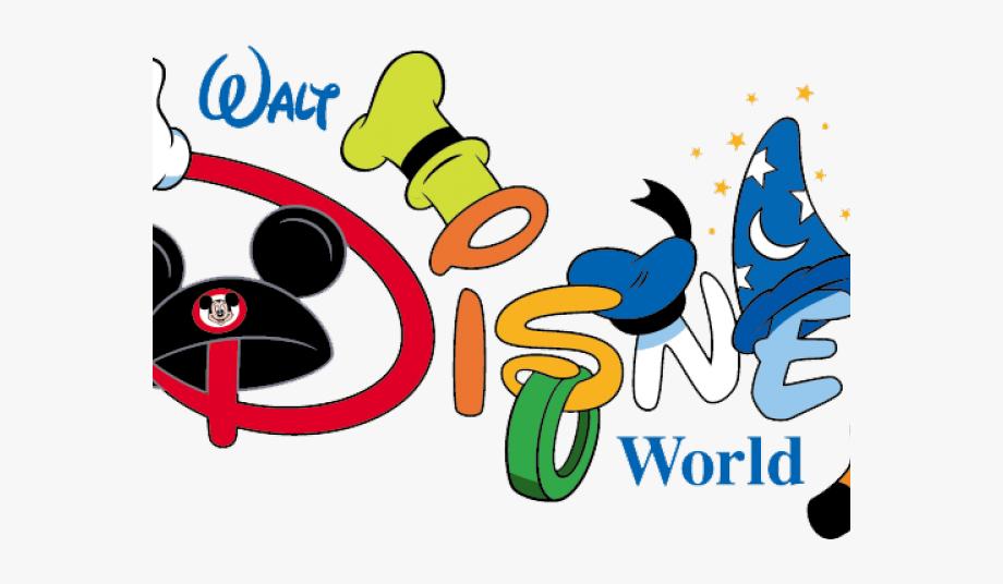 Disneyland clipart trip disney. Word walt world logo