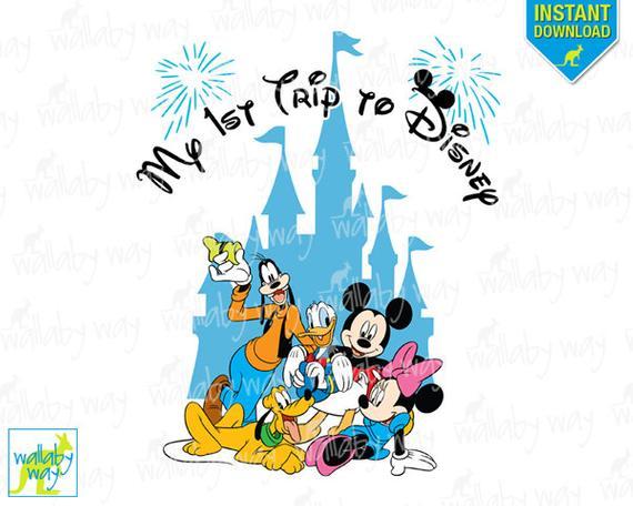Disneyland clipart trip disney. My st to printable