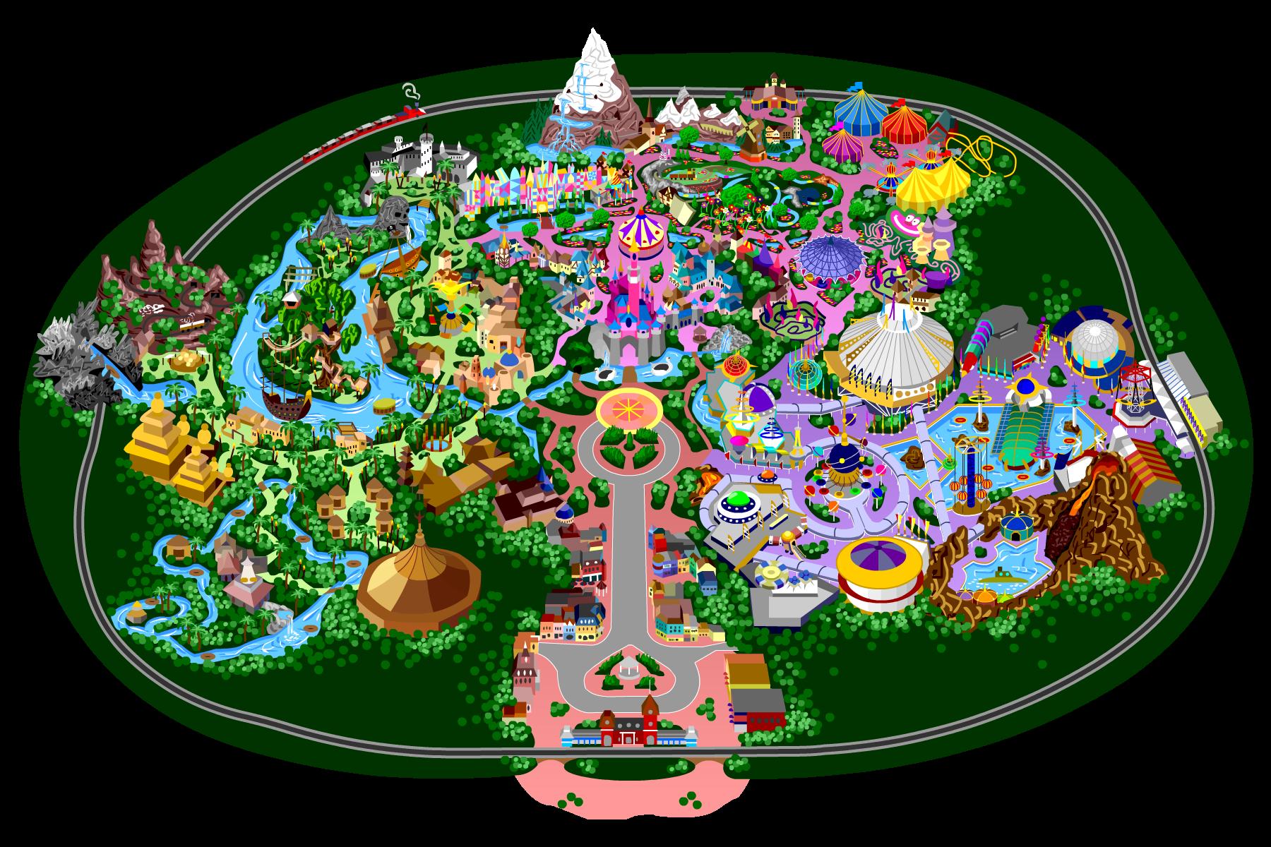 By mrzahta on deviantart. Disneyland clipart vector