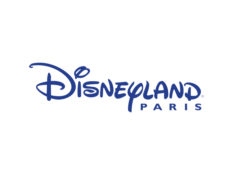 Logo paris alternative design. Disneyland clipart vector