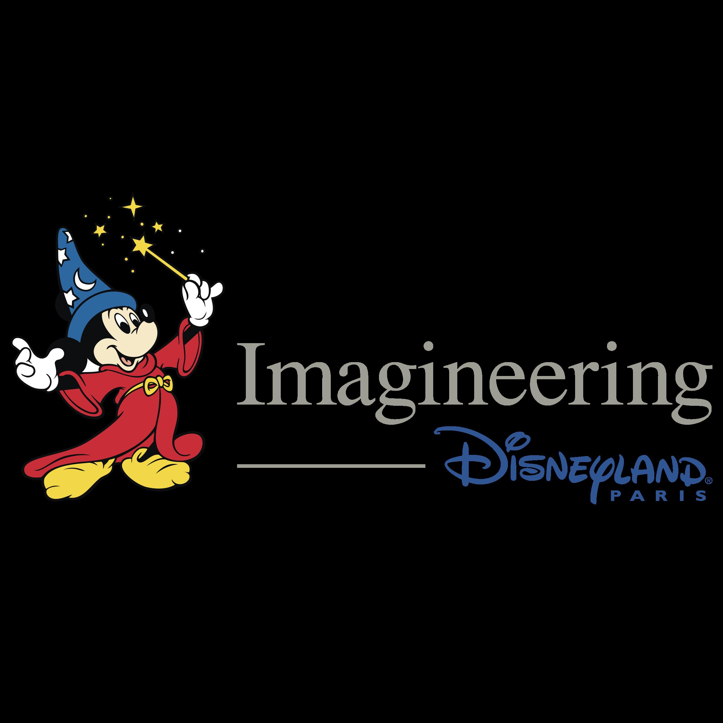 Imagineering paris logo png. Disneyland clipart vector