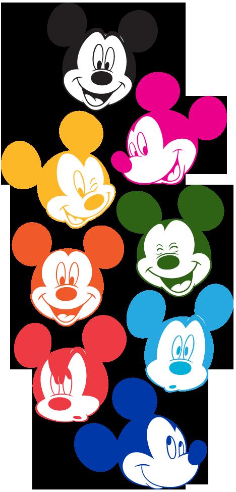 mice clipart colour