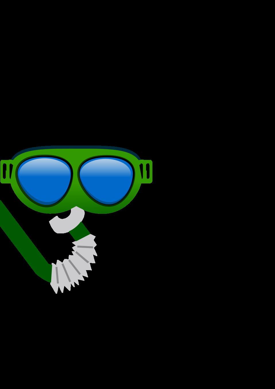Public domain clip art. Diver clipart bucear